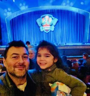 Jason attended Paw Patrol Live: Race to the Rescue on Feb 9th 2020 via VetTix