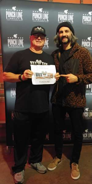 Gary attended Amir K on Jan 23rd 2020 via VetTix