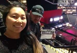 Robert attended PBR Unleash the Beast on Jan 24th 2020 via VetTix