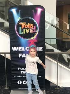 Walter attended Trolls Live! on Feb 23rd 2020 via VetTix