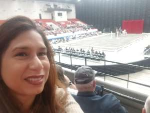 Judy attended The Gala of Royal Horses on Jan 24th 2020 via VetTix