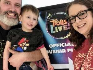Josh  attended Trolls Live! on Mar 1st 2020 via VetTix