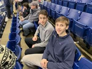 Greg attended Sny Connecticut Ice: NCAA Collegiate Hockey Tournament on Jan 26th 2020 via VetTix