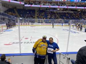 John attended Sny Connecticut Ice: NCAA Collegiate Hockey Tournament on Jan 26th 2020 via VetTix