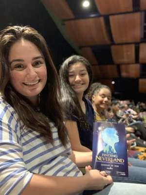 Cristina attended Finding Neverland on Jan 28th 2020 via VetTix