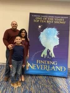 Mark attended Finding Neverland on Jan 28th 2020 via VetTix