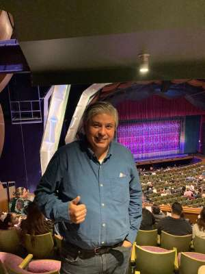 Ricardo attended Finding Neverland on Jan 28th 2020 via VetTix