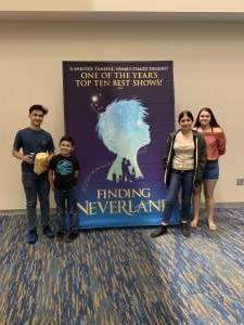 Carolyn attended Finding Neverland on Jan 28th 2020 via VetTix