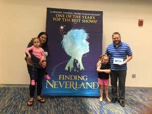 Edward attended Finding Neverland on Jan 28th 2020 via VetTix