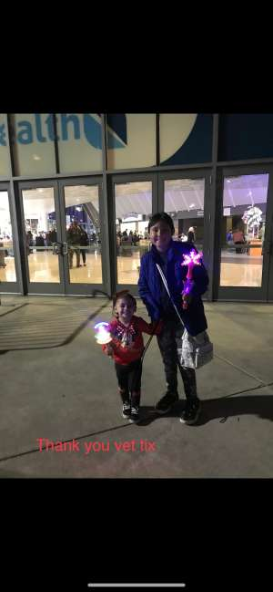 anthony attended Disney on Ice Presents Mickey's Search Party on Feb 7th 2020 via VetTix