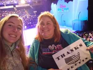 Karleen attended Disney on Ice Presents Mickey's Search Party on Feb 7th 2020 via VetTix