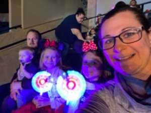 Teresa attended Disney on Ice Presents Mickey's Search Party on Feb 7th 2020 via VetTix