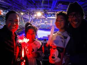 Ina attended Disney on Ice Presents Mickey's Search Party on Feb 7th 2020 via VetTix