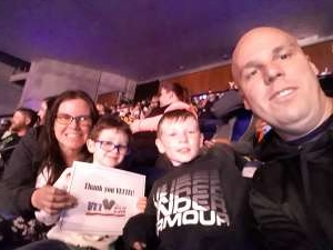 David attended Disney on Ice Presents Mickey's Search Party on Feb 7th 2020 via VetTix