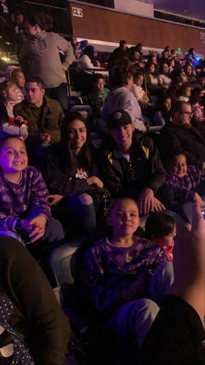 Joshua attended Disney on Ice Presents Mickey's Search Party on Feb 7th 2020 via VetTix