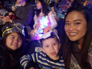 Sheryl attended Disney on Ice Presents Mickey's Search Party on Feb 7th 2020 via VetTix