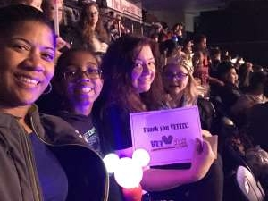 TAMMY attended Disney on Ice Presents Mickey's Search Party on Feb 7th 2020 via VetTix