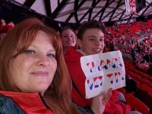 Craig attended University of Utah  vs. Arizona State University - NCAA Gymnastics on Jan 24th 2020 via VetTix