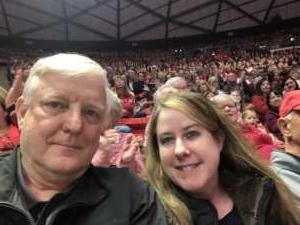 James attended University of Utah  vs. Arizona State University - NCAA Gymnastics on Jan 24th 2020 via VetTix