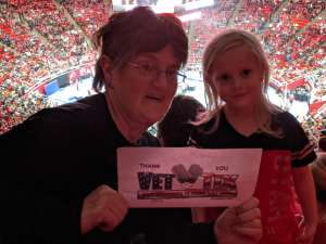 Barbara attended University of Utah  vs. Arizona State University - NCAA Gymnastics on Jan 24th 2020 via VetTix