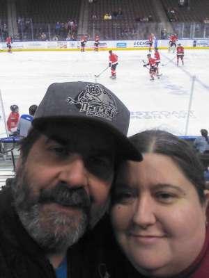 Shaunee attended Jacksonville Icemen vs. Adirondack Thunder - ECHL on Feb 15th 2020 via VetTix
