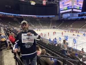 Curtis attended Jacksonville Icemen vs. Adirondack Thunder - ECHL on Feb 15th 2020 via VetTix