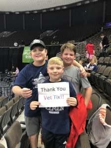 George attended Jacksonville Icemen vs. Adirondack Thunder - ECHL on Feb 15th 2020 via VetTix