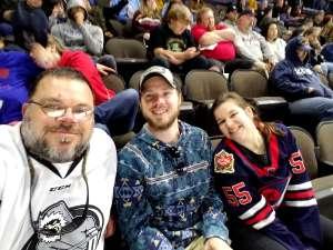 Paul attended Jacksonville Icemen vs. Adirondack Thunder - ECHL on Feb 15th 2020 via VetTix