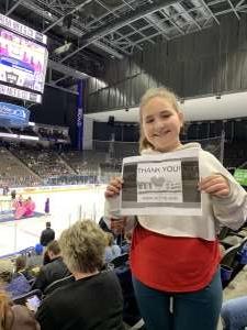 William attended Jacksonville Icemen vs. Adirondack Thunder - ECHL on Feb 15th 2020 via VetTix