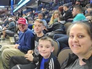 Marcia attended Jacksonville Icemen vs. Adirondack Thunder - ECHL on Feb 15th 2020 via VetTix