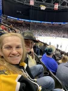 Tabitha attended Jacksonville Icemen vs. Adirondack Thunder - ECHL on Feb 15th 2020 via VetTix