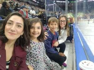 Teresa attended Jacksonville Icemen vs. South Carolina Stingrays - ECHL on Feb 16th 2020 via VetTix