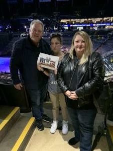 William attended Disney on Ice Presents Dream Big on Jan 30th 2020 via VetTix