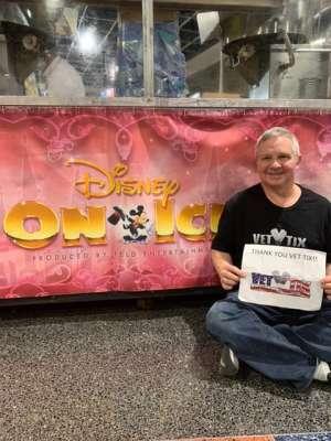 Scott attended Disney on Ice Presents Dream Big on Jan 30th 2020 via VetTix
