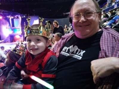 David attended Disney on Ice Presents Dream Big on Jan 30th 2020 via VetTix