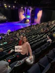 Daniel attended Disney on Ice Presents Dream Big on Jan 30th 2020 via VetTix
