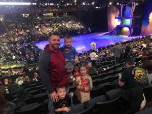 Justin attended Disney on Ice Presents Dream Big on Jan 30th 2020 via VetTix
