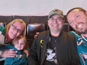 Carlos attended San Jose Sharks vs. Tampa Bay Lightning - NHL ** Post Game Photo Op ** on Feb 1st 2020 via VetTix