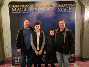 Fred attended Champions of Magic on Jan 30th 2020 via VetTix