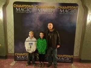 Chris attended Champions of Magic on Jan 30th 2020 via VetTix