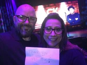 Mark attended Brea Improv on Feb 25th 2020 via VetTix