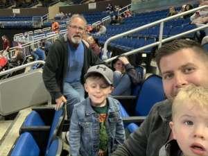 Nicholas attended Orlando Solar Bears vs. Jacksonville Icemen - ECHL on Jan 23rd 2020 via VetTix