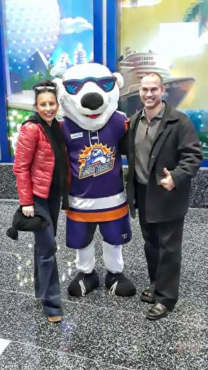 Darrell attended Orlando Solar Bears vs. Jacksonville Icemen - ECHL on Jan 23rd 2020 via VetTix