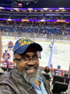 Vaughn attended Orlando Solar Bears vs. Jacksonville Icemen - ECHL on Jan 23rd 2020 via VetTix