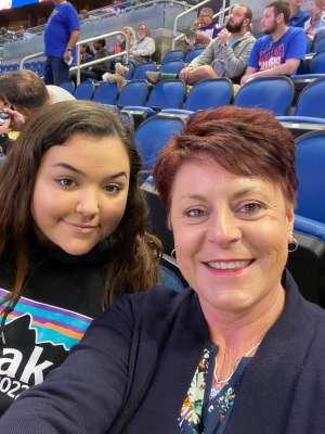 KiKi attended Orlando Solar Bears vs. Greenville Swamp Rabbits - ECHL on Jan 25th 2020 via VetTix