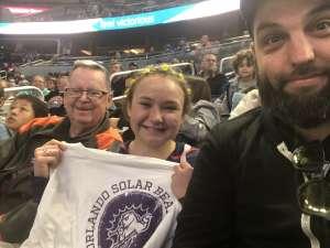 John attended Orlando Solar Bears vs. Greenville Swamp Rabbits - ECHL on Jan 25th 2020 via VetTix