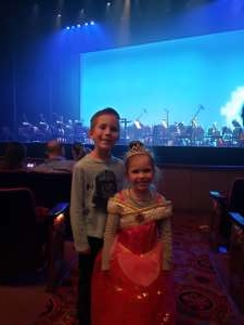 Kathleen attended Cirque Cinderella on Jan 26th 2020 via VetTix