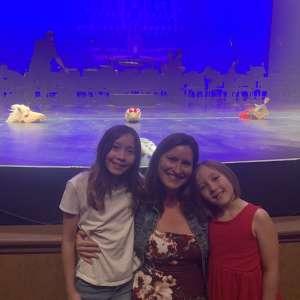 Christina attended Cirque Cinderella on Jan 26th 2020 via VetTix
