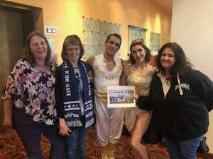 Valorie attended Cirque Cinderella on Jan 26th 2020 via VetTix