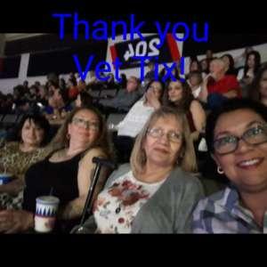 Laura attended Cher: Here We Go Again Tour on Mar 8th 2020 via VetTix